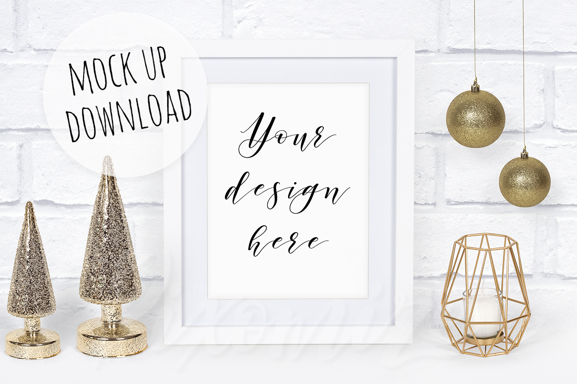 Christmas Frame Mockup Bundle example image 4