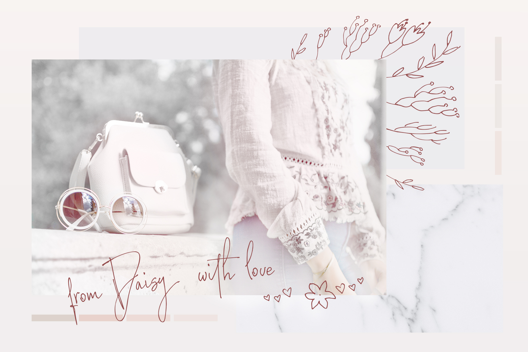 Lady Boss script font + Extras example image 15