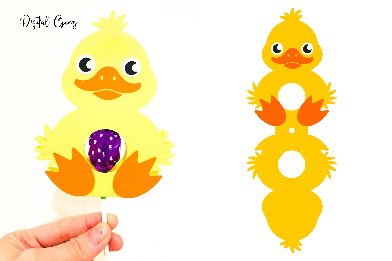 lollipop holder designs. Lamb, Rabbit, Duck and Penguin example image 4