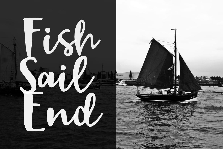 Black Sail Brush Font example image 3