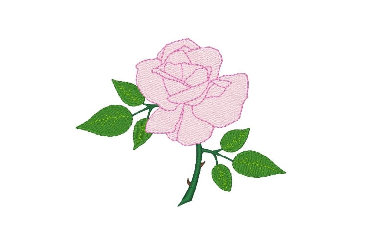 Rose Machine Embroidery Designs Set of 3 example image 5