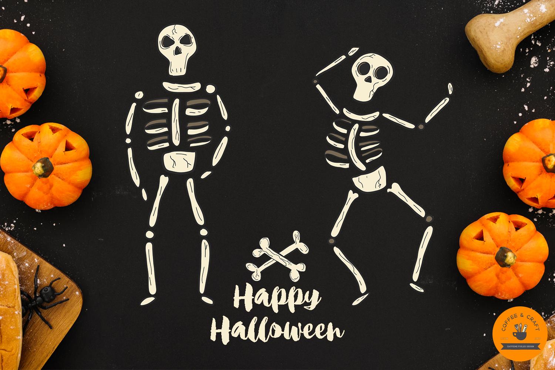 Halloween Skeletons example image 5