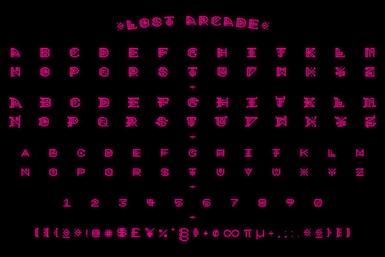 Lost Arcade Regular example image 2