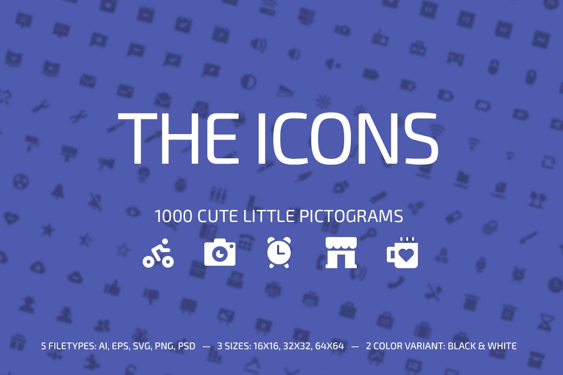 1000 Little Glyphs example image 1