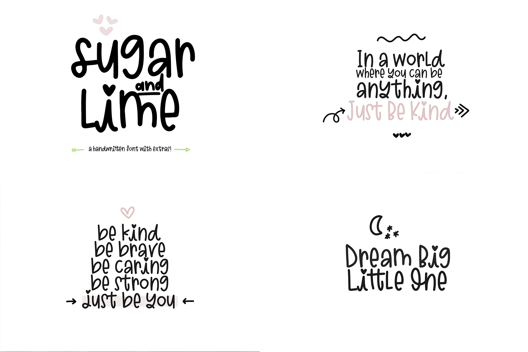 The Sweet Font Bundle - 14 Fun & Quirky Fonts example image 10