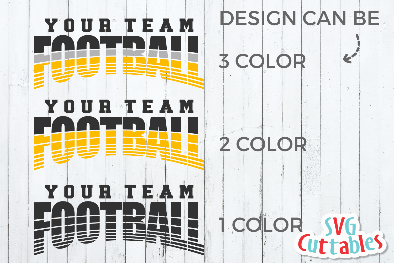 Football Template 0041 | Football svg cut file example image 3