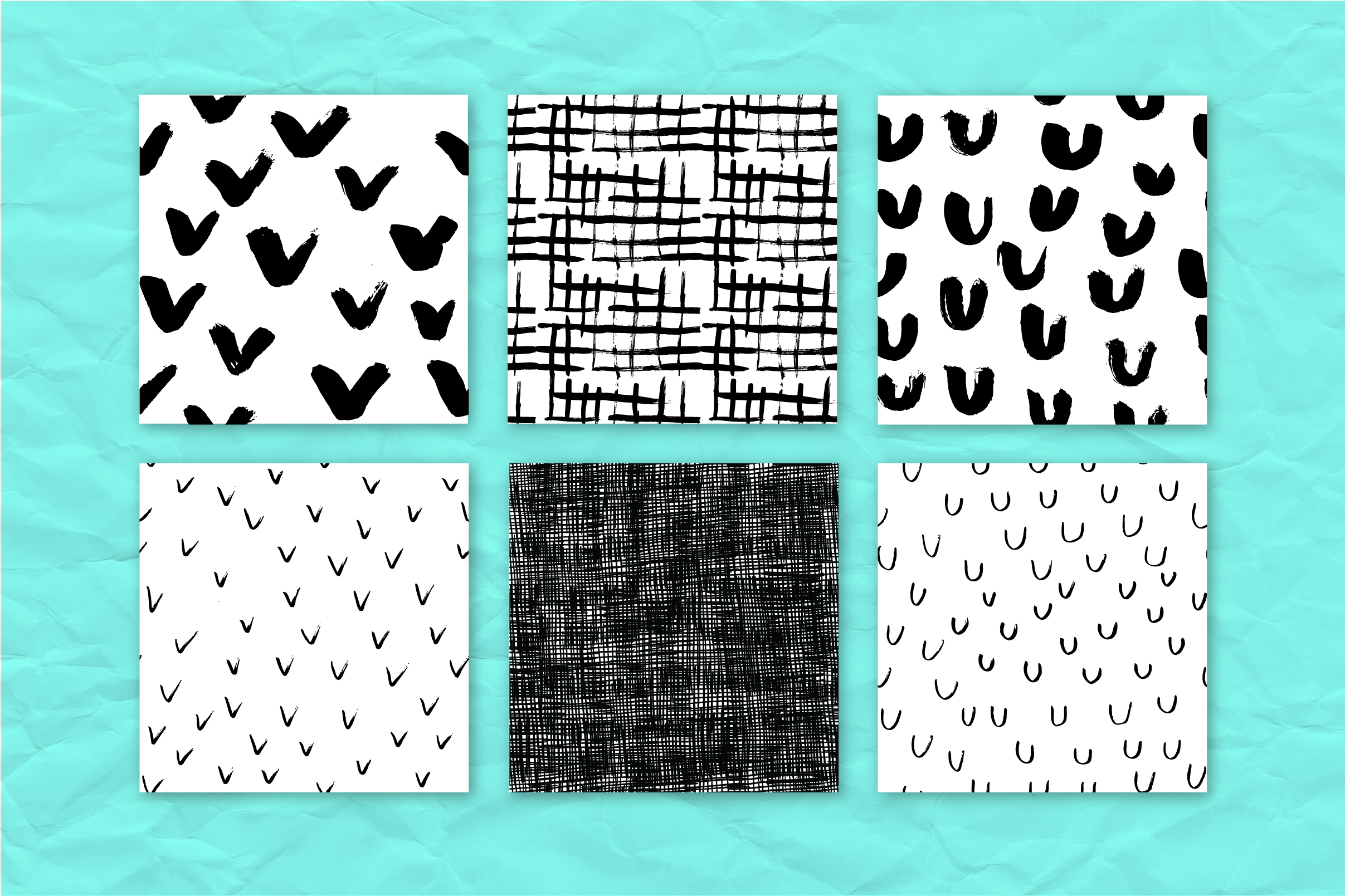 34 ink effect seamless patterns v3 example image 5