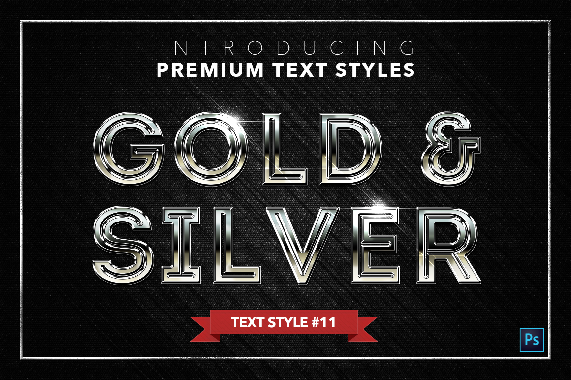 Gold & Silver #3 - 15 Text Styles example image 9