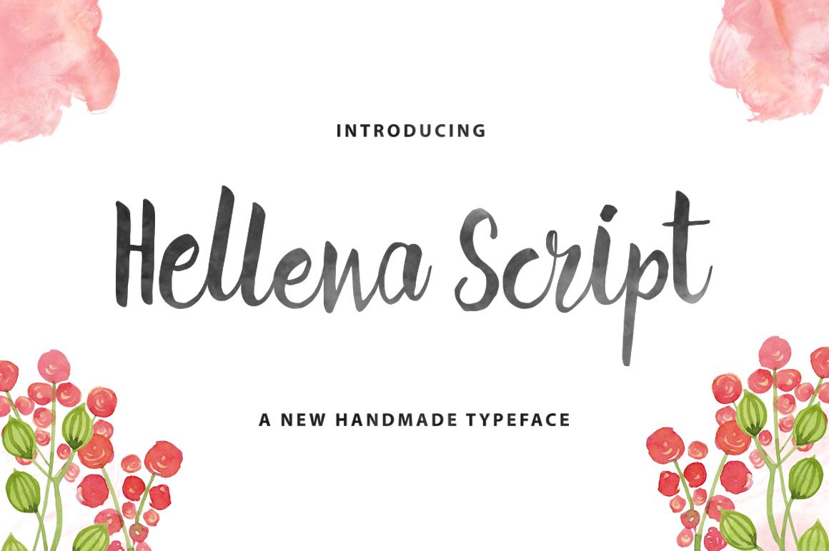 Hellena Script example image 1