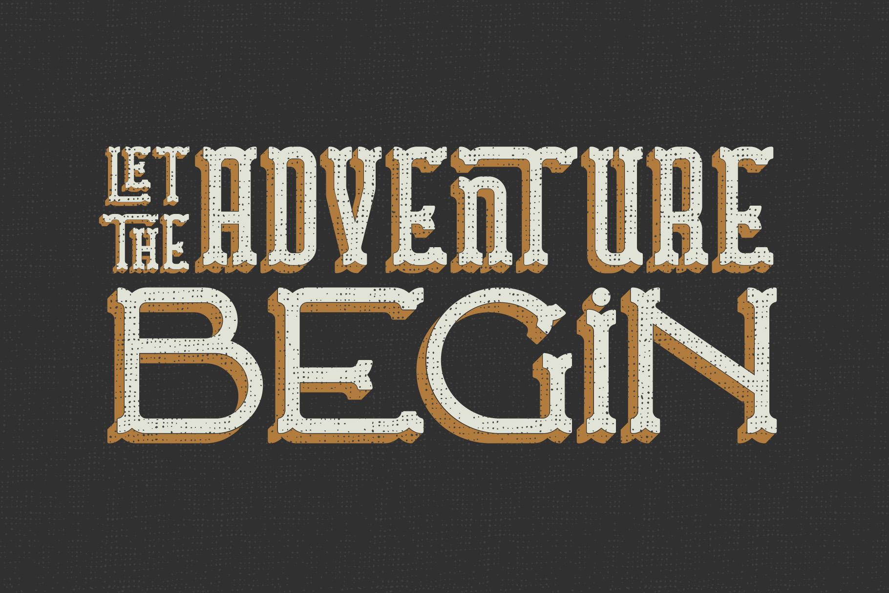 Traveler v.2 typeface example image 2