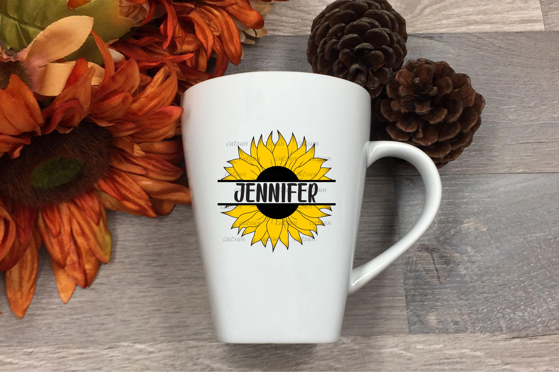 Sunflower SVG bundle   Floral bundle SVG example image 12