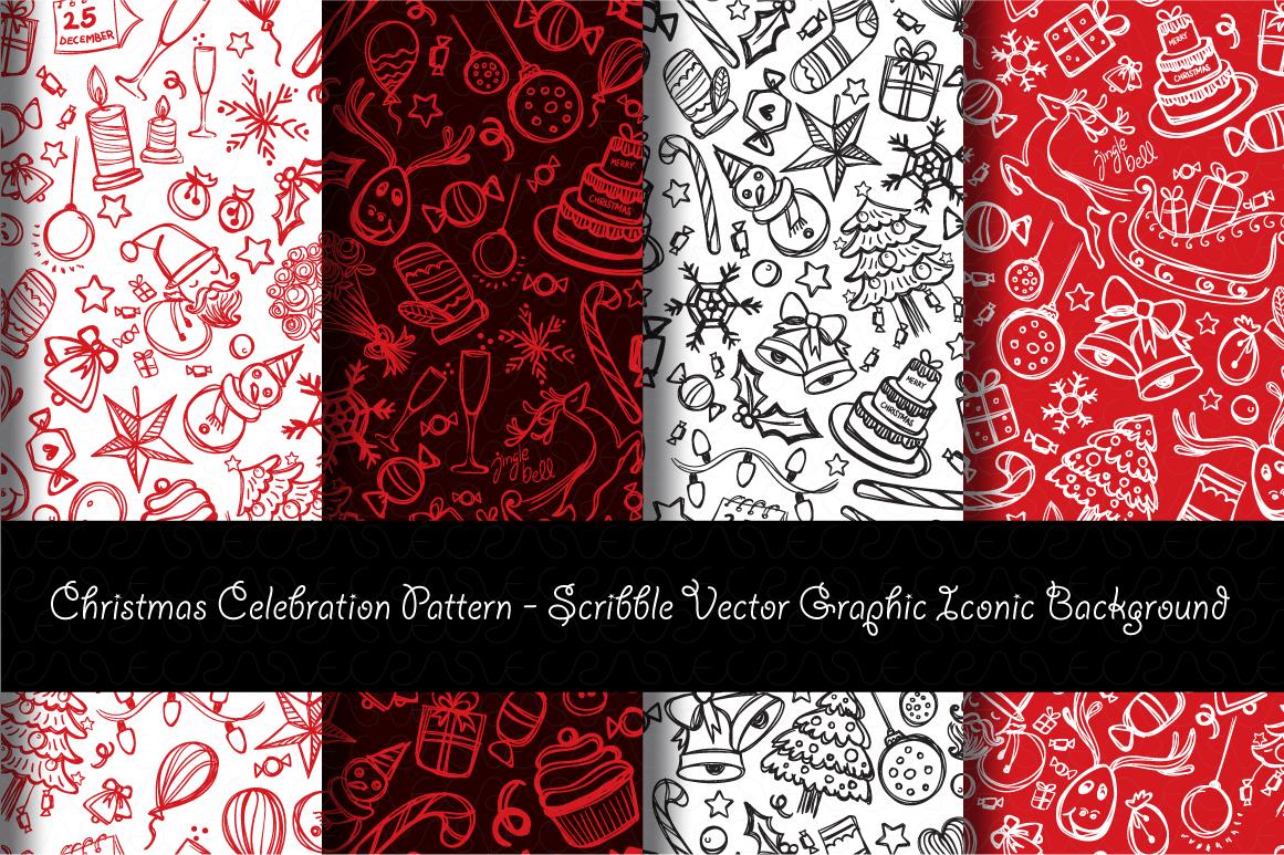 Christmas & New Year Bundle of Ornamental Mockups & Graphics example image 15