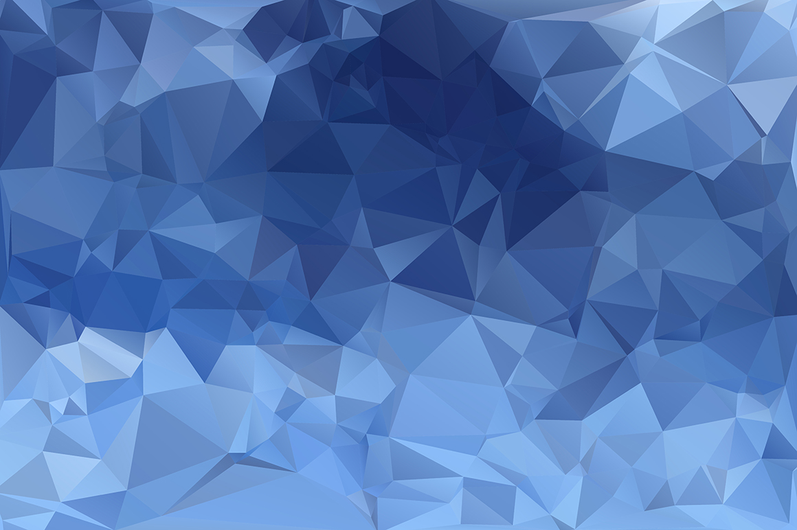 Polygon vector backgrounds set example image 14