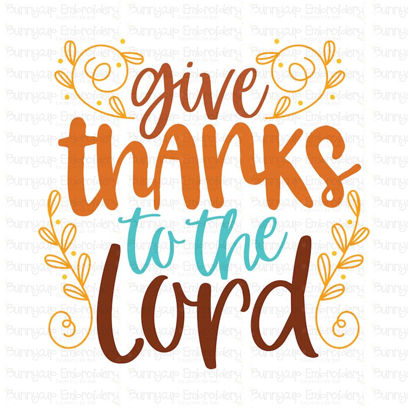 photo relating to Give Thanks Printable referred to as Provide Due Toward The Lord - SVG, Clipart and Printable