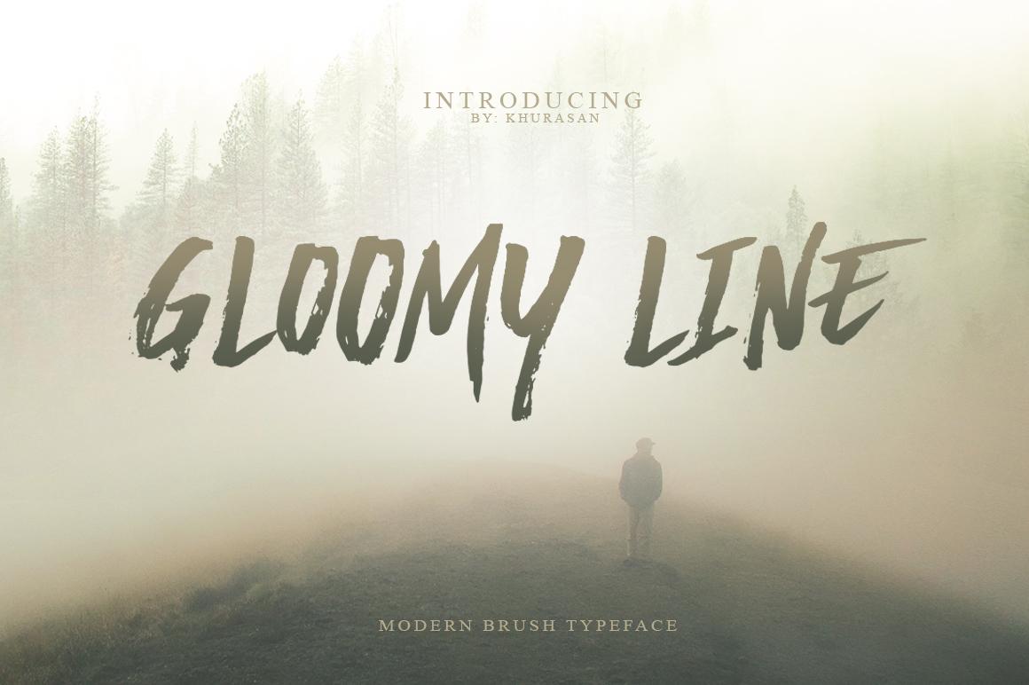 Gloomy Line example image 1