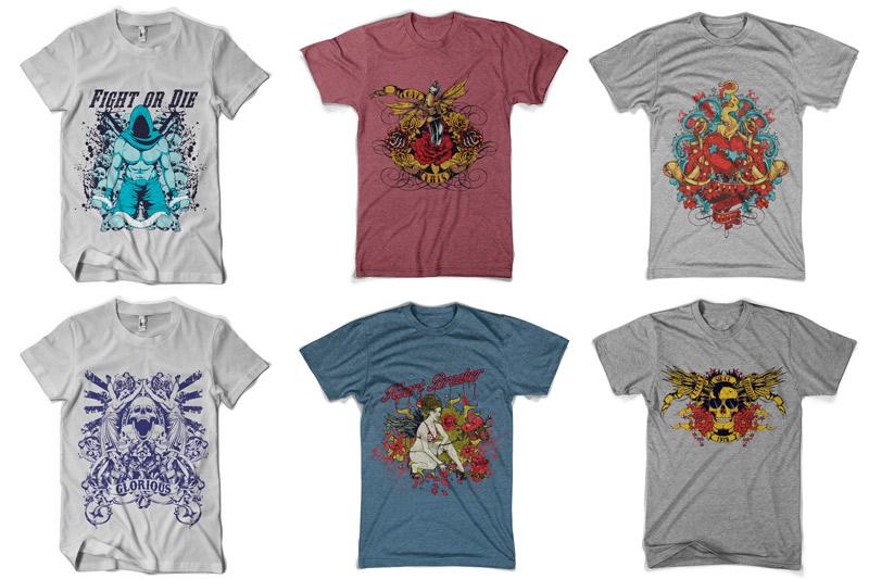 100 T-shirt Designs Vol 4 example image 8