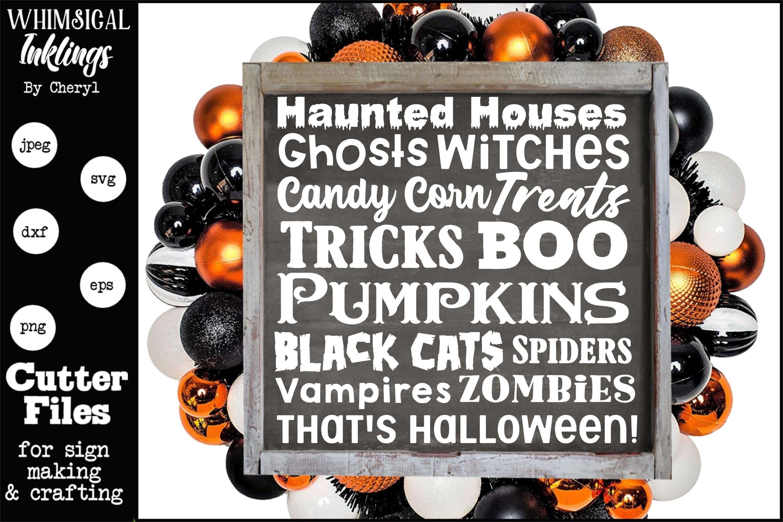 Thats Halloween SVG example image 1
