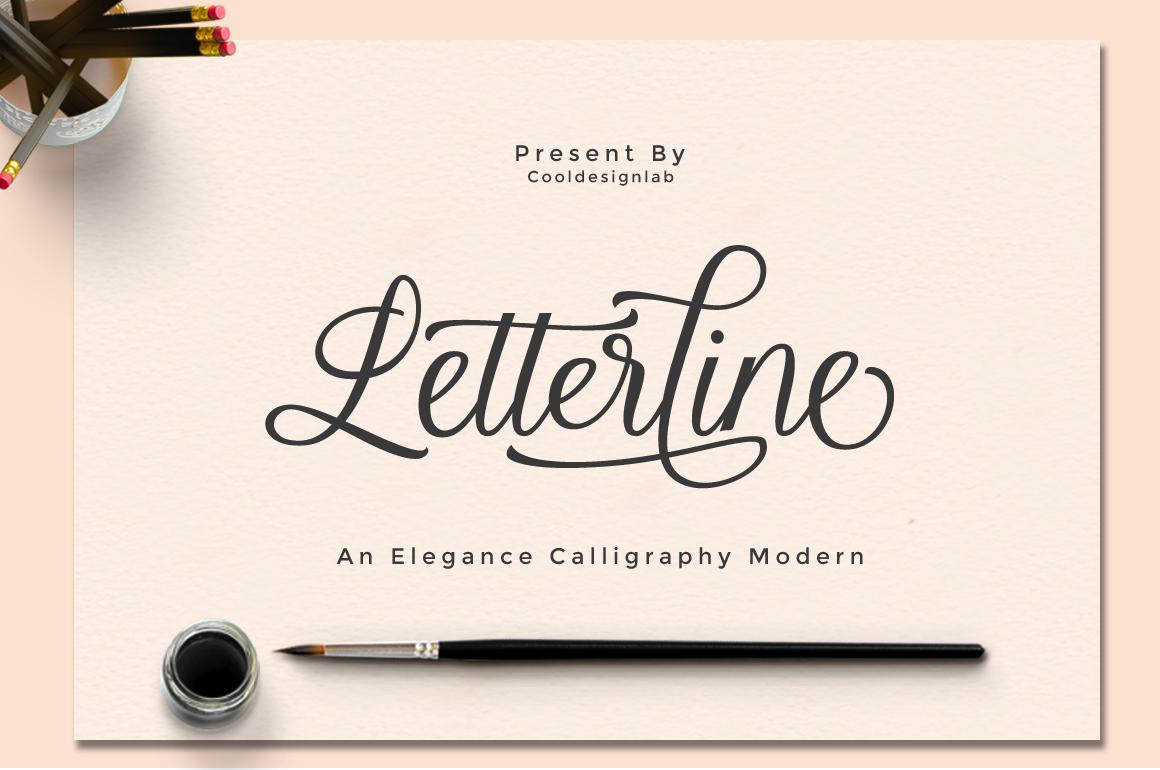 Letterline Script example image 1