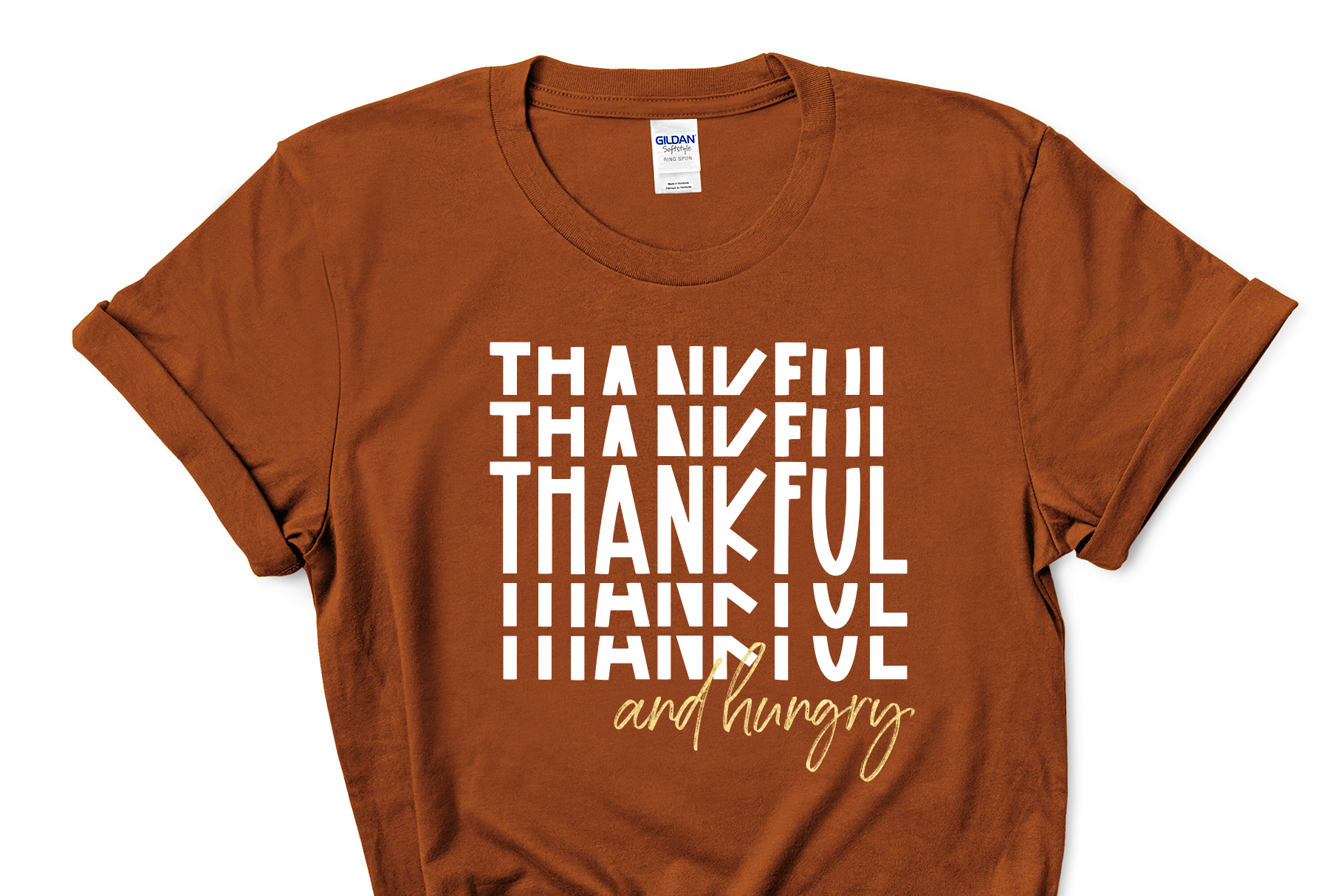 Gratitude - A Fun Stacked Font example image 3