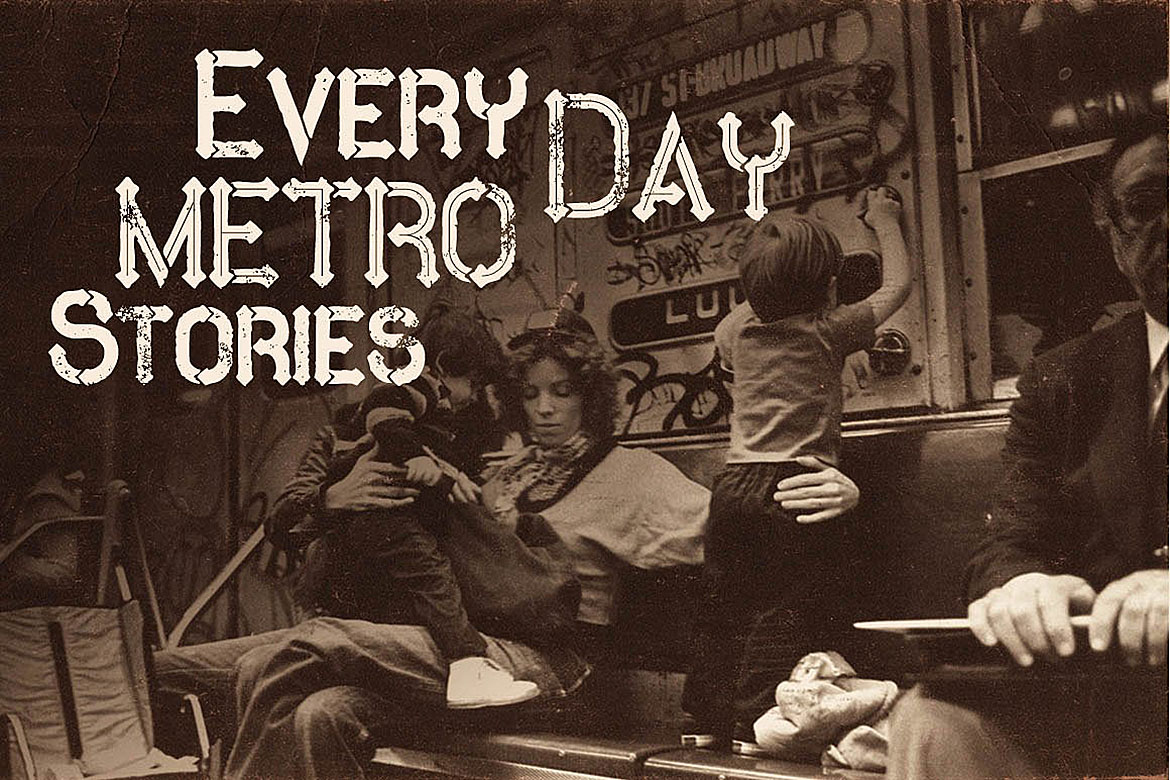 Metro - 10 Fonts Family example image 4