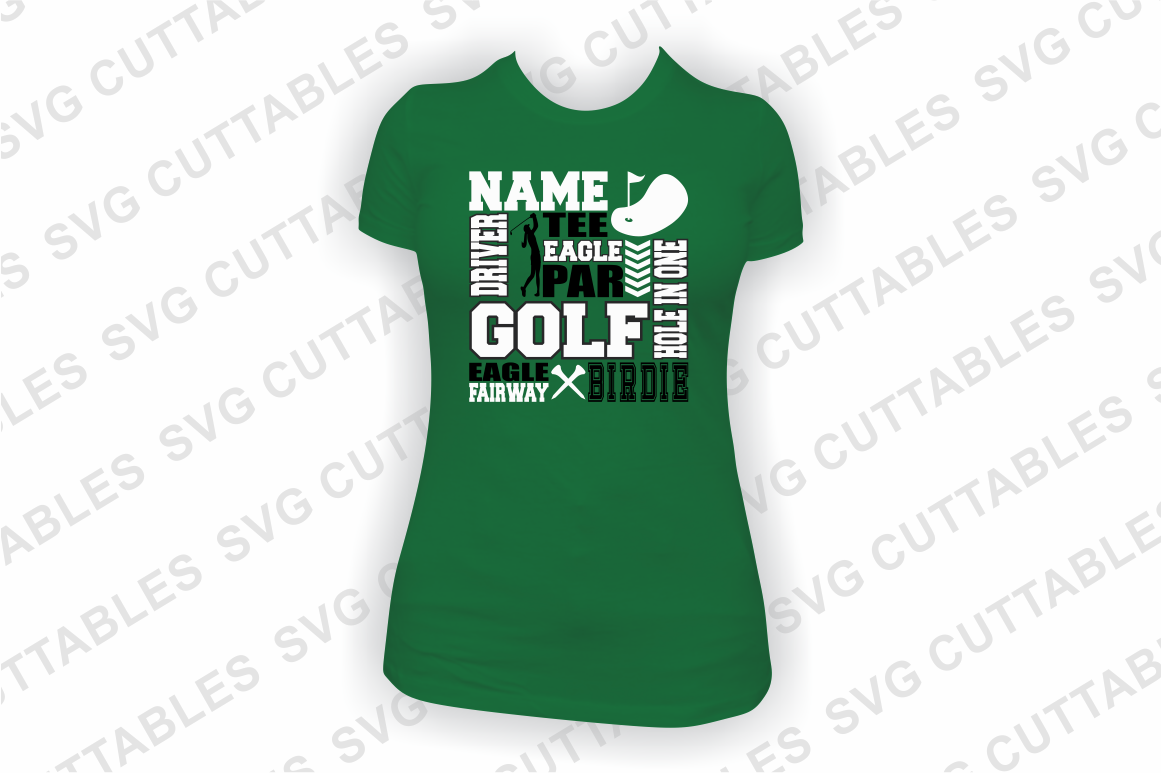 Golf svg, Golf Subway Art svg cut file example image 3