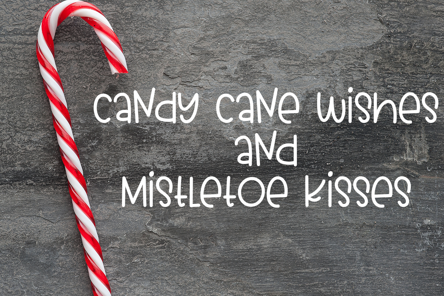 Candy Cane Fudge - A Yummy Hand-Written Font example image 7