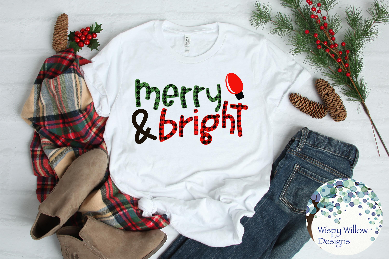 Buffalo Plaid Christmas Bundle SVG Cut Files example image 6