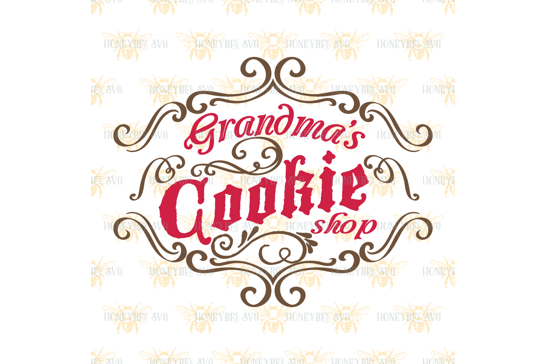 Grandma's Cookie Shop svg example image 2