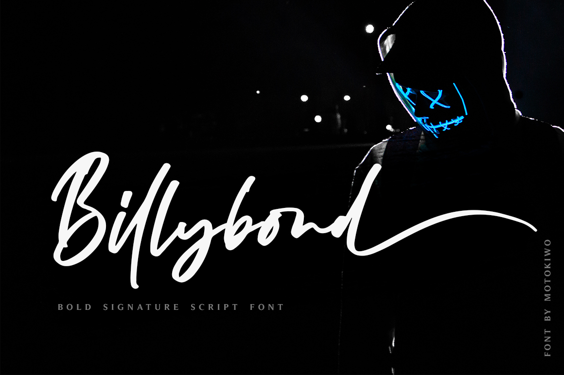 Billybond - Bold Signature example image 1