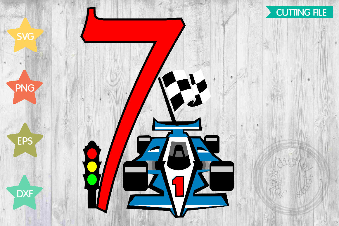 Racing Birthday 7th, by Julies Homemade Jems example image 1