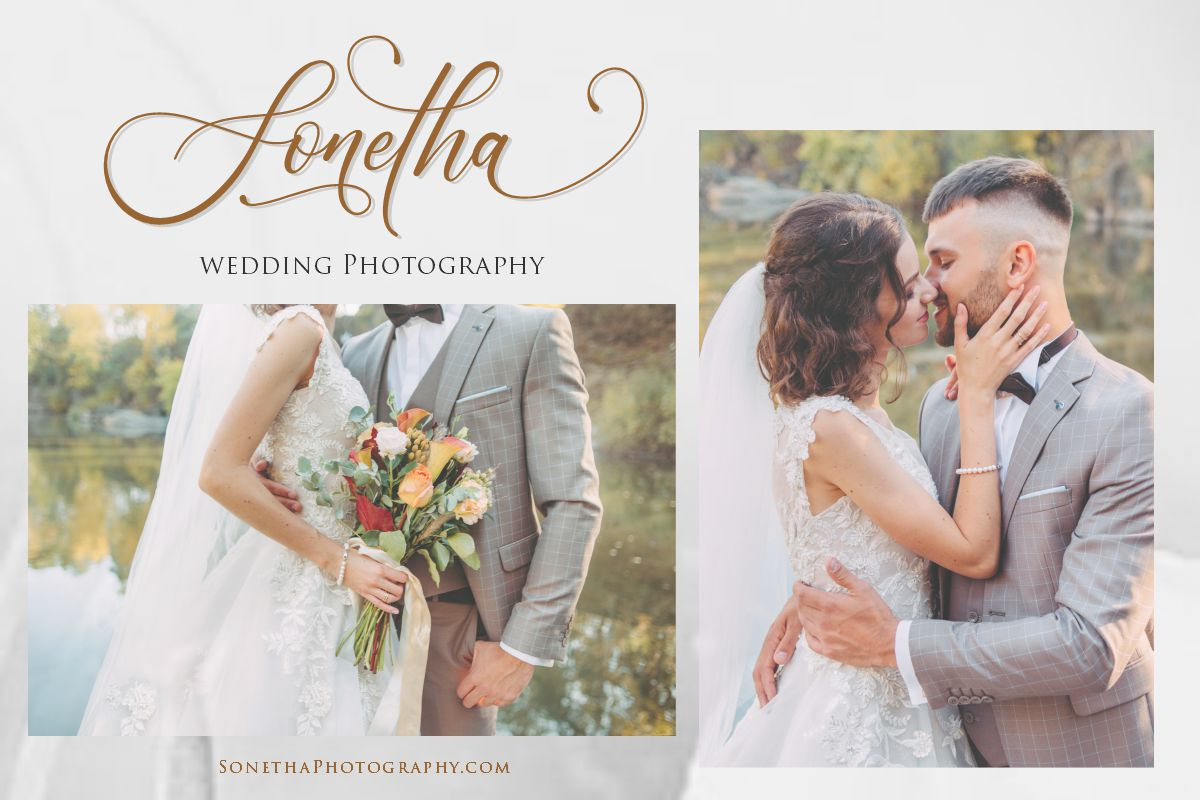 Lenttera | Beauty Style Calligraphy example image 7