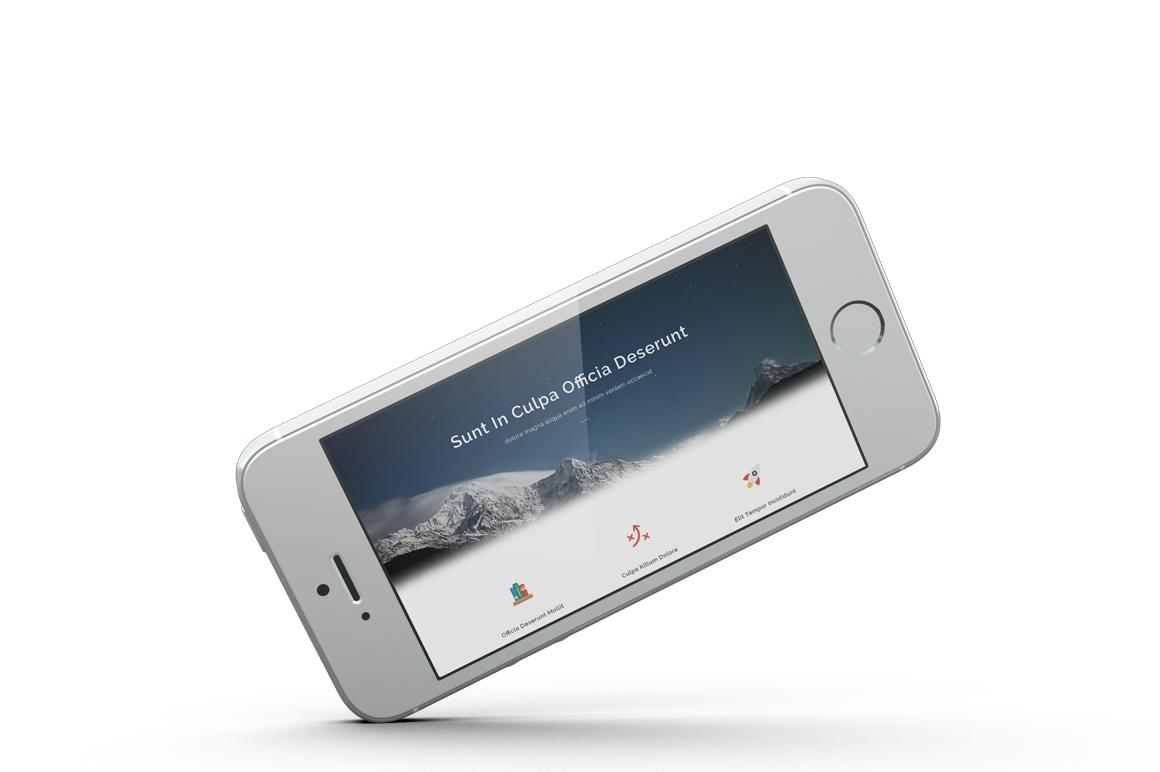 iPhone SE Mockup example image 8