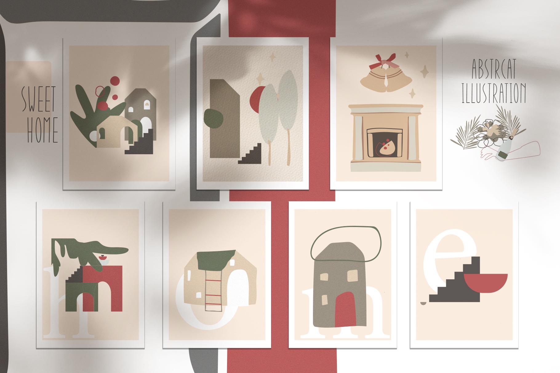 Christmas Secret Modern Graphic Set example image 2