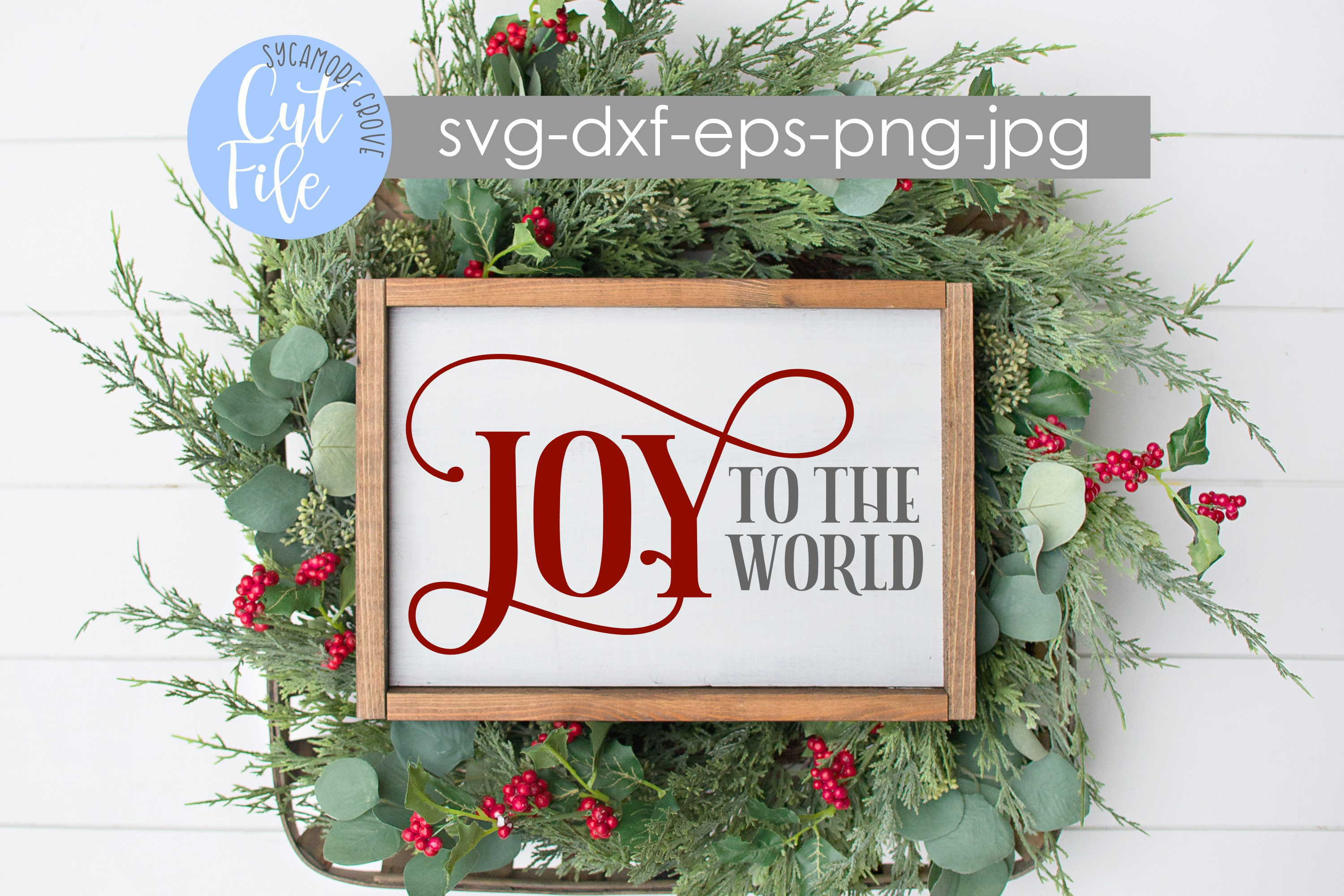 Joy To The World | Christmas SVG example image 4