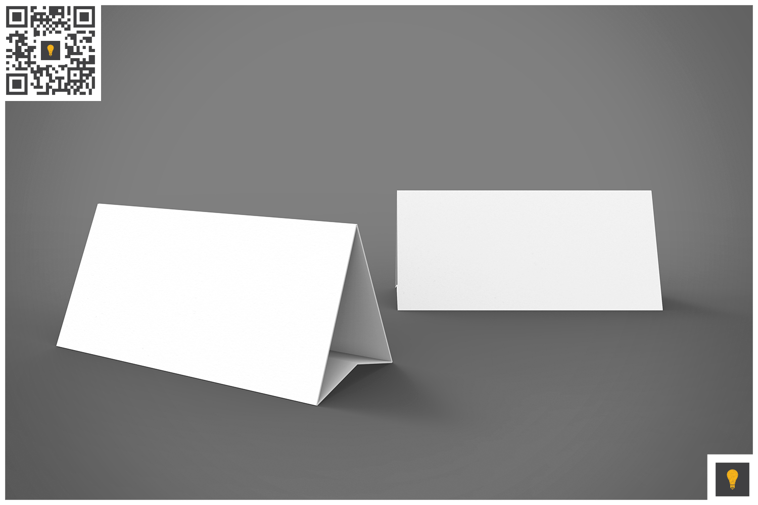 Table Tent 3D Render example image 2