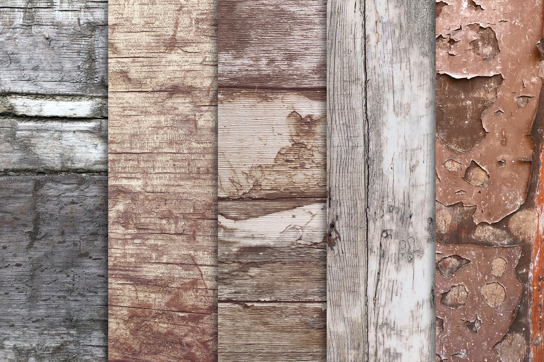 Grunge Wood Textures x10 example image 4