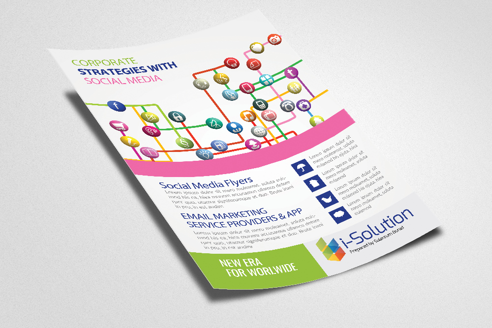 Social Media Flyer Template example image 2