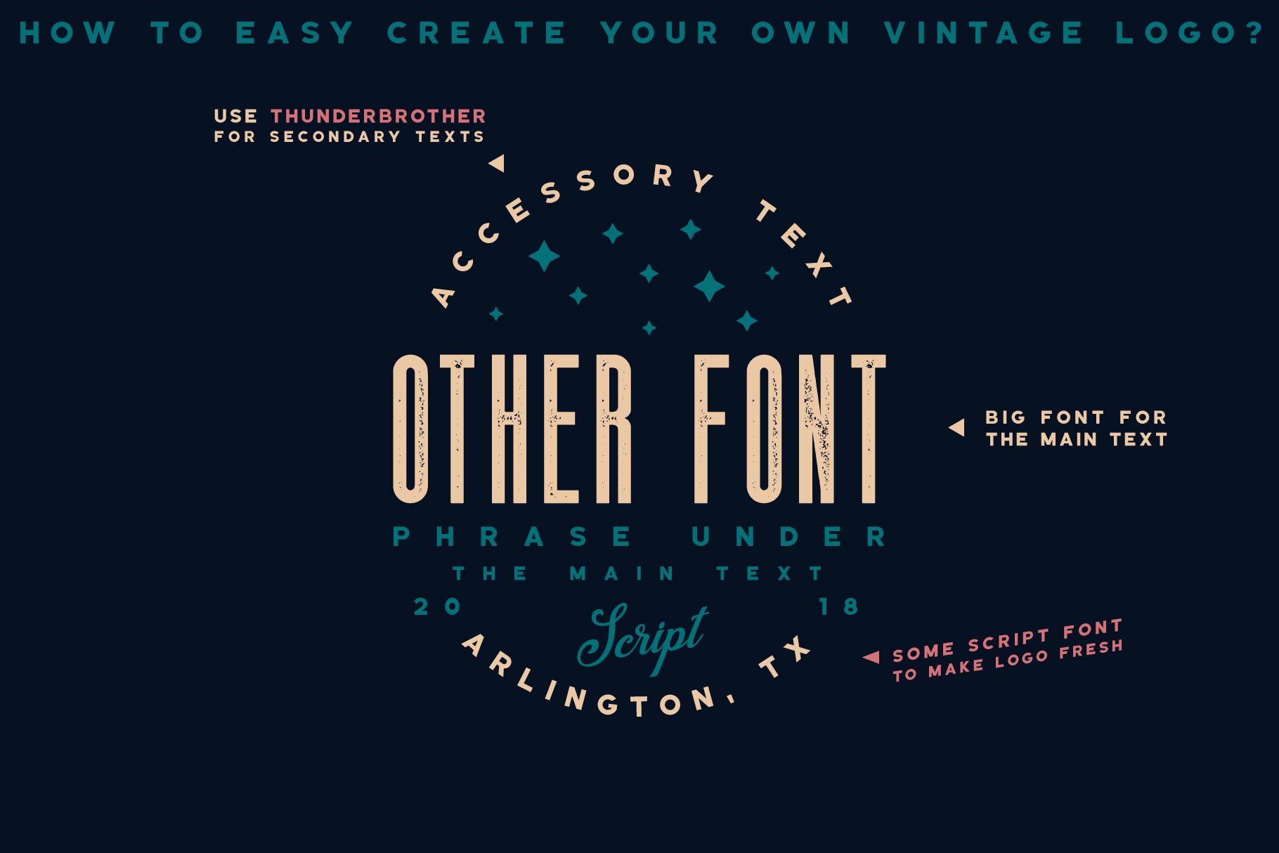 Thunderbrother - Bold Sans-serif Font example image 2