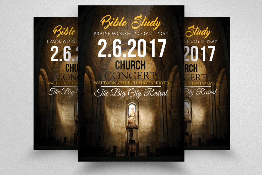 Holy Church Flyer Templates example image 1