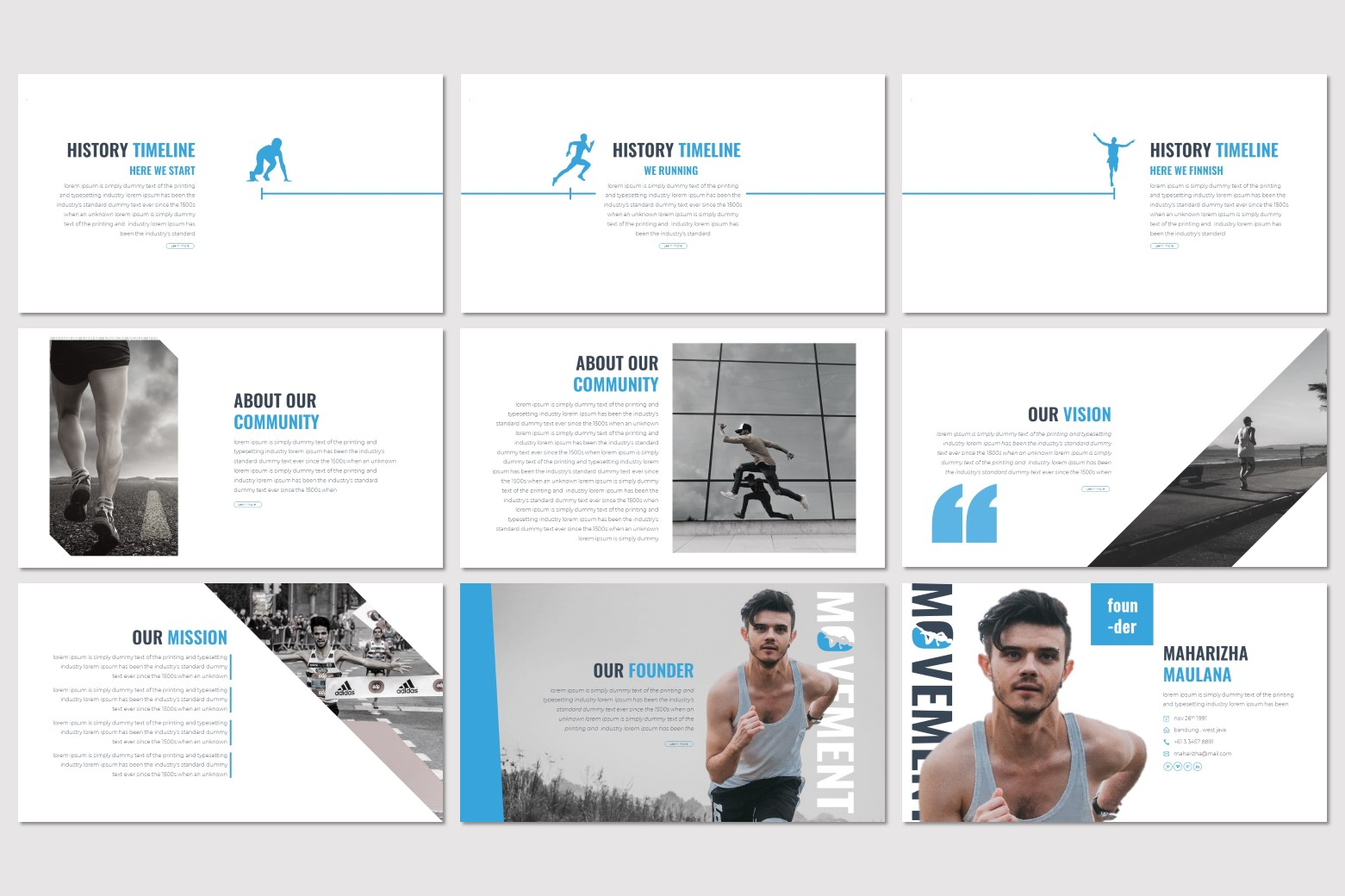 Movement - Keynote Template example image 3