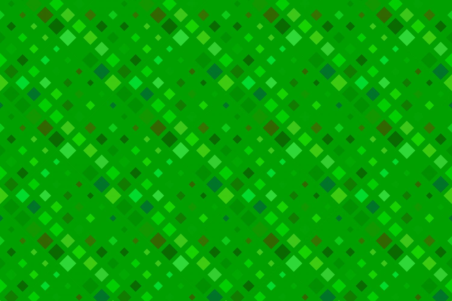 24 Seamless Green Square Patterns example image 19