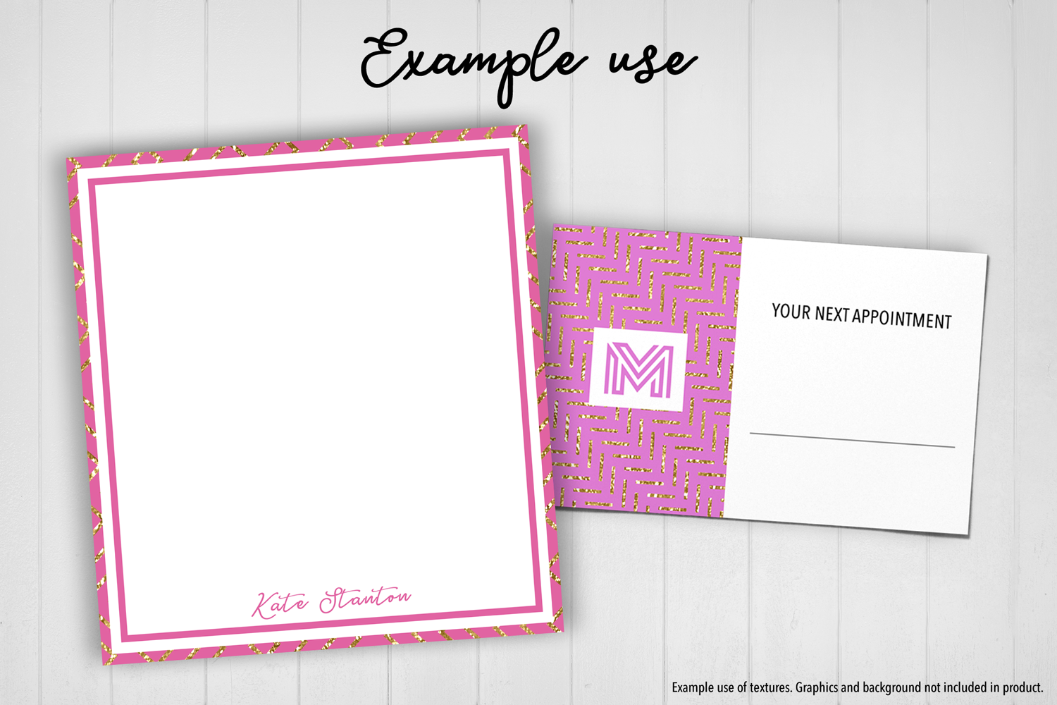 Pink and Gold Glitter example image 5