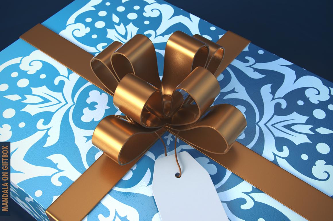 100 Christmas Mandala Ornaments example image 11