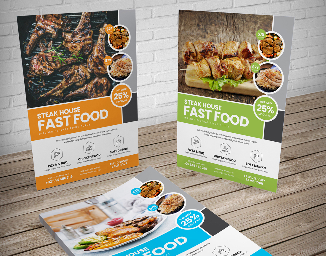 Food Menu Restaurant Brochure Bundle example image 10