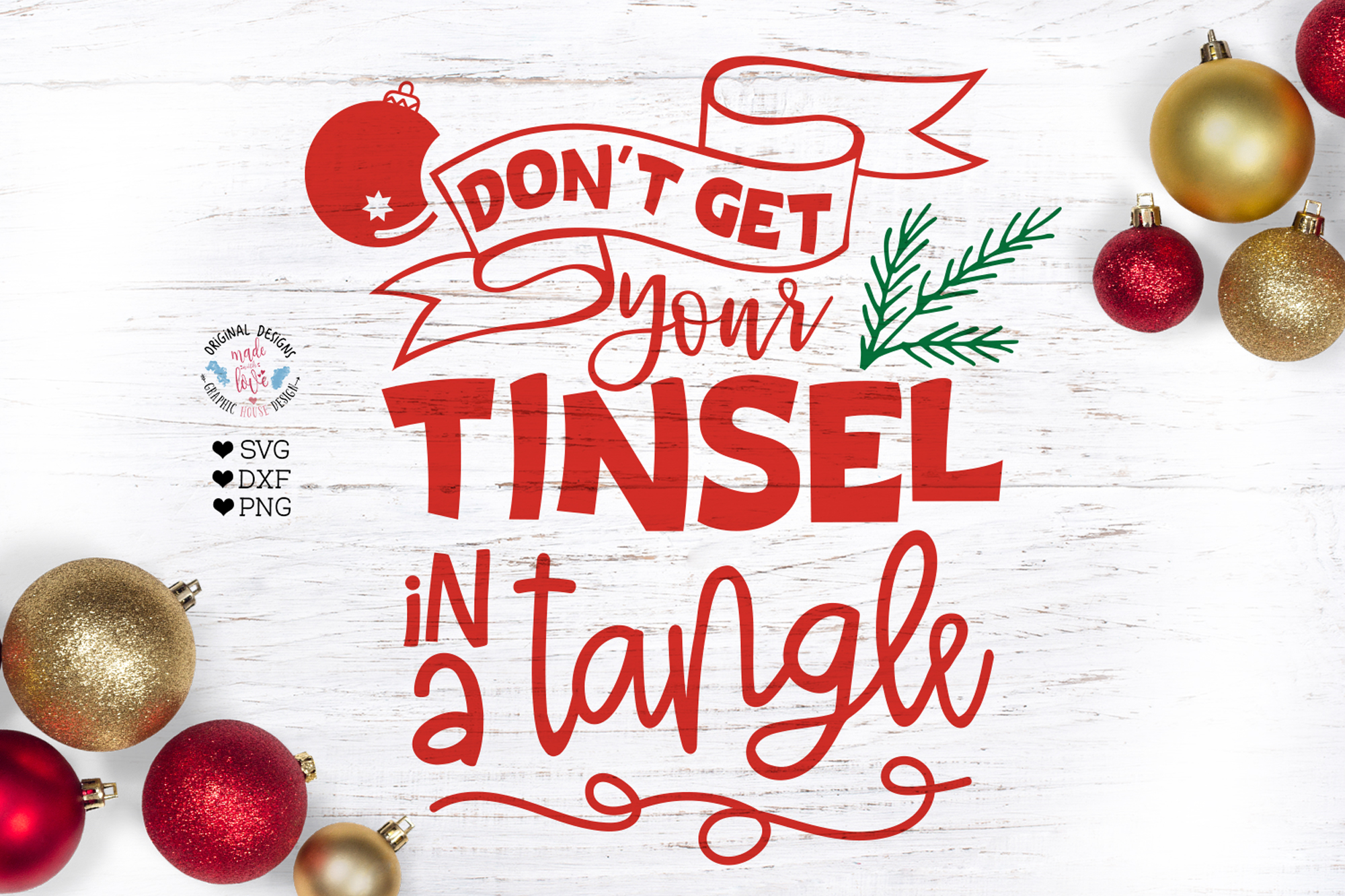 Don't Get Your Tinsel in a Tangle example image 1