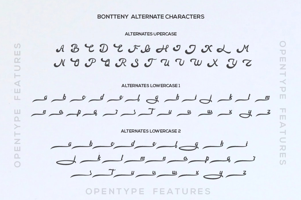 Bontteny Font example image 8