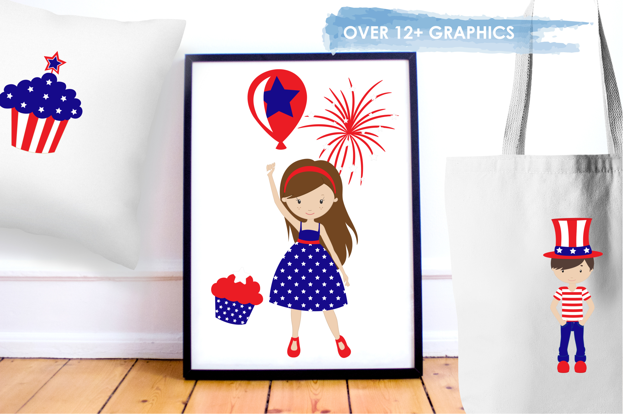 Independence Day graphics and illustrations example image 5