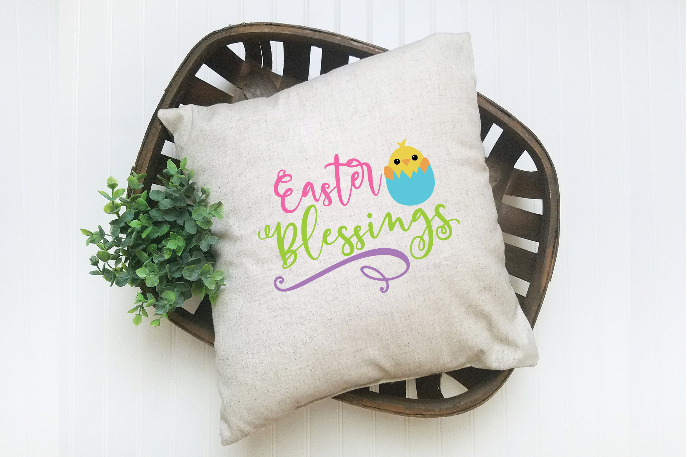 Easter SVG Cut File - Easter Blessings SVG DXF EPS PNG AI example image 2