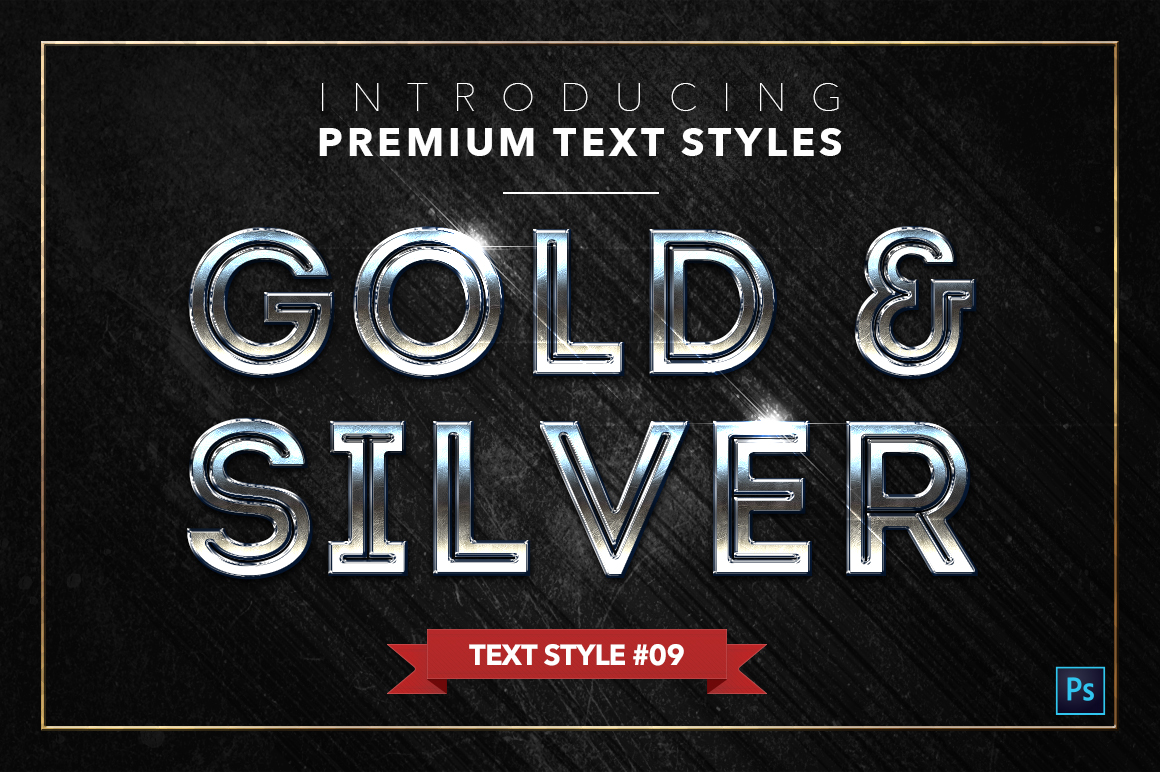 Gold & Silver #2 - 20 Text Styles example image 15