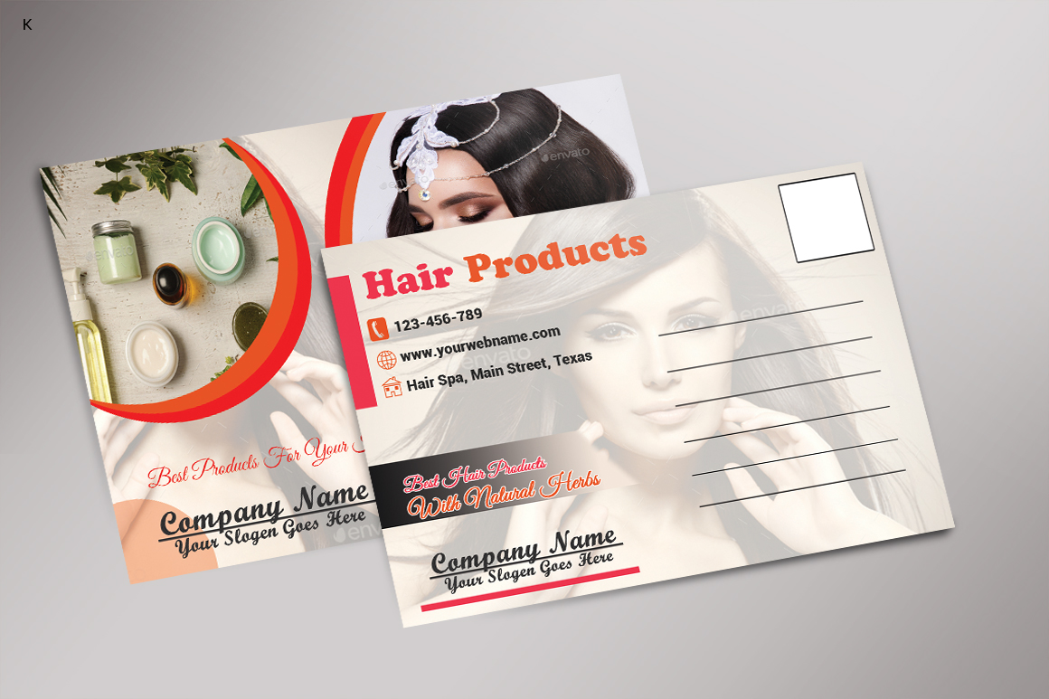 Hair Products Post Card example image 4